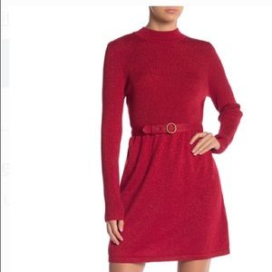 Free People Red Dress Size Small, worn once.